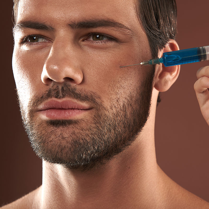 men skin treatment
